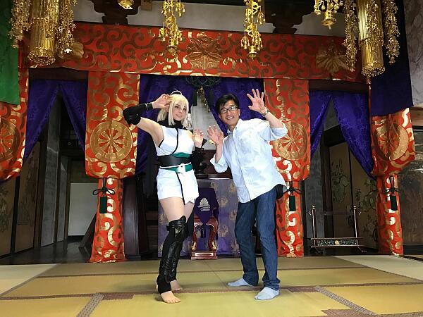 飯坂温泉で街コスイベント開催されました!!