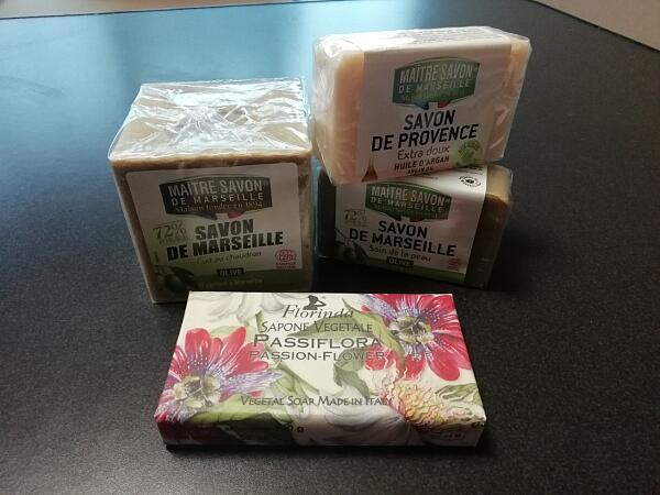 Lovely shop of natural soap
