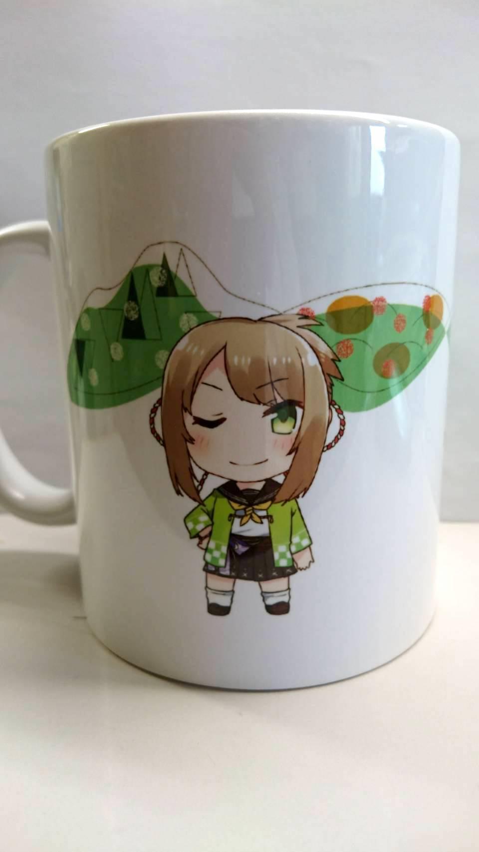 祭屋湯左衛門にて真尋ちゃんマグカップ発売☕️