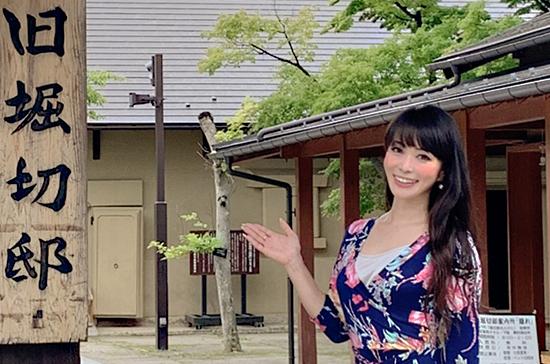 飯坂温泉キャンペーンレディと観光スポット巡り
